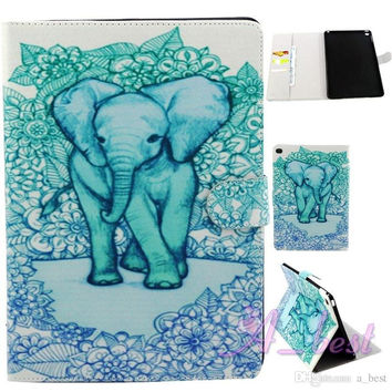 cute elephant Samsung galaxy s5 ipad mini creative case cover walle