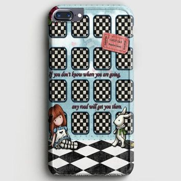 Alice And Wonderland Party iPhone 7 Plus Case