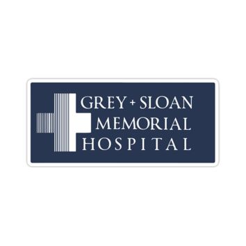 Grey And Sloan Memorial Hospital Sticker