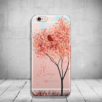 Tree iPhone Case Clear iPhone 6s Case Clear iPhone 6s Plus Case iPhone 5SE Case iPhone 6 Plus Case Soft Silicone iPhone Case