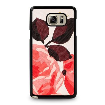 KATE SPADE CAMEROON STREET ROSES 3 Samsung Galaxy Note 5 Case