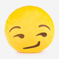 Emoji Pillows - Smirk