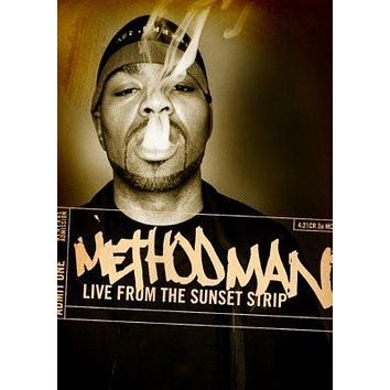 Method Man Live poster Metal Sign Wall Art 8in x 12in