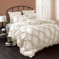Walmart: Riviera 3-Piece Bedding Comforter Set