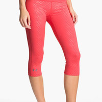 Under Armour 'Sonic' Print Running Capris | Nordstrom