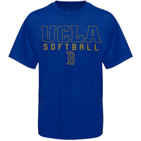 UCLA Bruins Frame Softball T-Shirt - True Blue