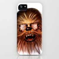 STAR WARS CHEWBACCA iPhone & iPod Case by Tom Brodie-Browne