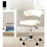 Walmart: Safavieh Pier Desk Chair, White