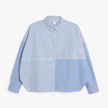 Monki | View all new | Hidden button cotton blouse