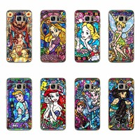 Soft Cases For Samsung Galaxy S5 S6 S7 Edge A3 A5 J5 J7 A310 A510 J510 J710 2016 Rapunzel Angel Princess Cartoon Silicon Covers