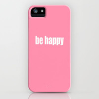 Be Happy with Baker-Miller Pink Color iPhone & iPod Case by Irina Wardas
