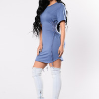 Painkiller Tunic - Denim Blue