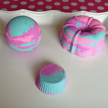 Cotton Candy Bath Bomb - Colorful Bath Bomb - Bright Bath Bomb - Bath Bomb - Cotton Candy - Gift for her