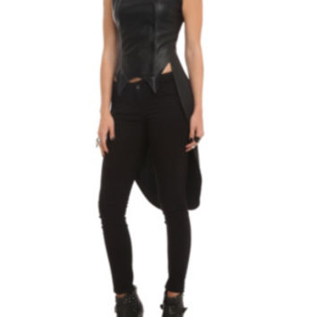 Disney Maleficent Snap Front Vest