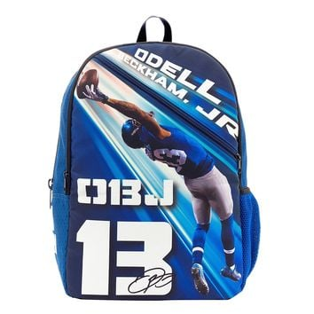 New York Giants Odell Beckham Jr Junior Giant Backpack