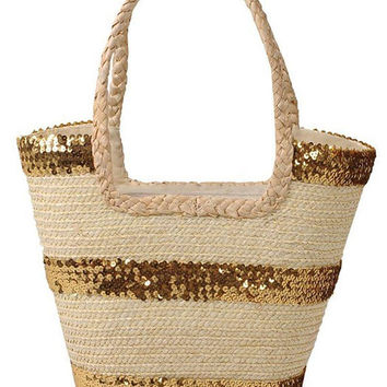 Women's summer shopping bag. Straw bag. Wicker bag. Market bag. Basket tote. Picnic bag. Basket bag. Beach bag. Summer bag. Garden bag