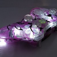 PINK CAMO LED Xbox 360 Modded Controller (Rapid Fire Mod) COD GHOSTS, Call of Duty BLACK OPS 2 MW3 MW2