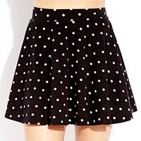 Polka Dot Doll Skater Skirt
