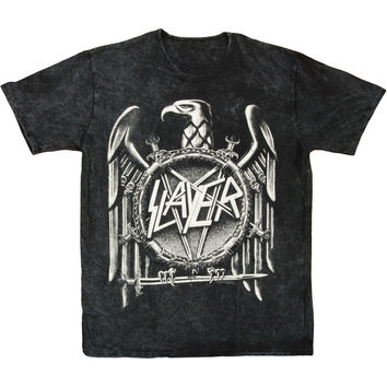Slayer Men's  Hi-Contrast T-shirt Black