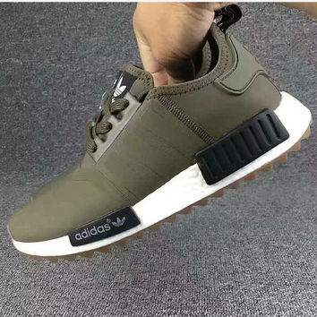 "Fashion""Adidas"" Women Fashion Trending Running Sports NMD Shoes Green"