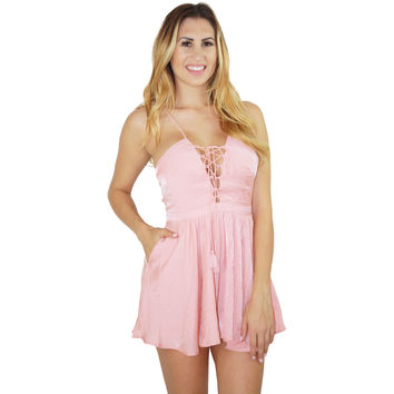 Lotus Romper in Blush