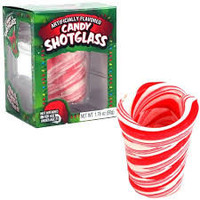 Candy Peppermint Shot Glasses