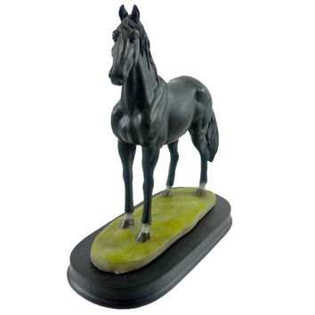 Animal BLACK HORSE Resin Figurine Animals 11405