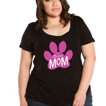 Rescue Mom Graphic Tee