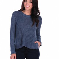 Vintage Havana Side Pocket Knit Sweater