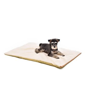 120*75cm/75*49cm Products For Animals Pet Heating Beds Beige Warm Large Dog Cushion Zipper Washable Puppy Mats Pet House