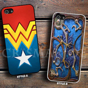 wonder woman logo & Steampunk book cover