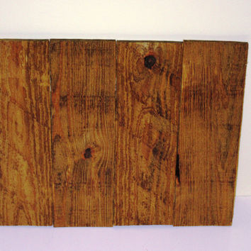"Reclaimed wood blank sign, Stained Wood Canvas,22""X13"" Wood Canvas,Pallet Wood Canvas, Photography Backdrop, Rustic Decor"