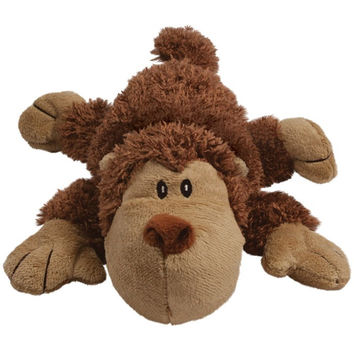 Kong Cozie Spunky the Monkey Dog Toy