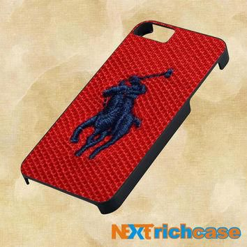 Polo Ralph Lauren Original Logo in Red For iPhone, iPod, iPad and Samsung Galaxy Case