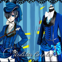 Black Butler Cosplay Ciel Phantomhive  Blue by RedstarCosplay