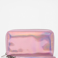 Cheap Monday Oil Slick Checkbook Wallet