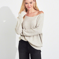 Girls On Or Off The Shoulder Sweater | Girls Tops | HollisterCo.com