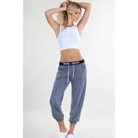 Work. Sweat. Melange Workout Pants