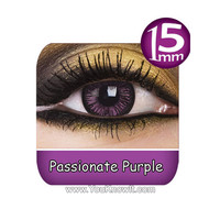 Passionate Purple Big Eyes Contact Lenses