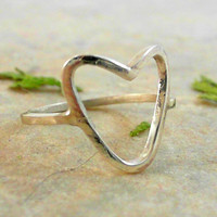 Heart Ring in 925 Sterling Silver CC-11639