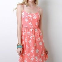 Flower Silhouette Dress