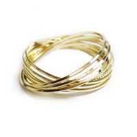 Gold Bangles, People StyleWatch July 2012