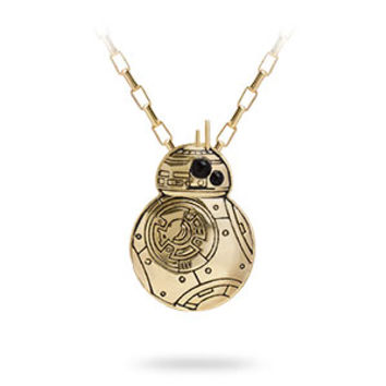 Gold BB-8 Pendant Necklace - Exclusive