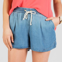 Hampton Drawstring Soft Shorts
