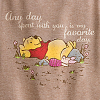 Winnie the Pooh Long Sleeve Thermal Tee for Women