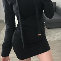 JC Sweater Dress (black)