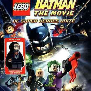 Lego Batman-Movie Dc Superheroes Unite (Dvd with Toy)