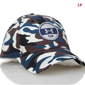 Under Armour New fashion embroidery letter camouflage cap hat 1#