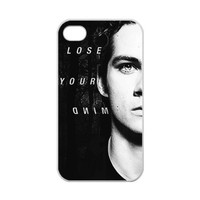 iPhone 4,4S Case Inspired Teen Wolf Dylan O'brien Designed iPhone 4,4S 100% TPU (Laser Technology)