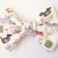 The Disneyland Handmade Bow (Handmade Bow / Bow Tie / or Headband)